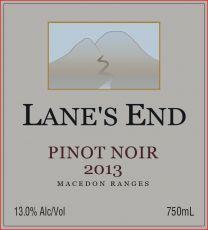  Pinot Noir 2013  Released September 2014